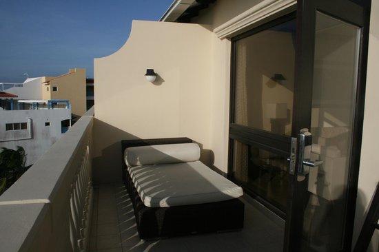 Bucuti & Tara Beach Resort Aruba: Penthouse balcony