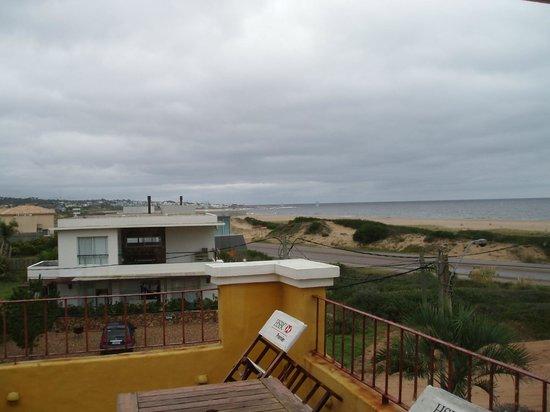 Hotel La Bluette: Depuis le balcon, en regardant vers Manantiales à l'est