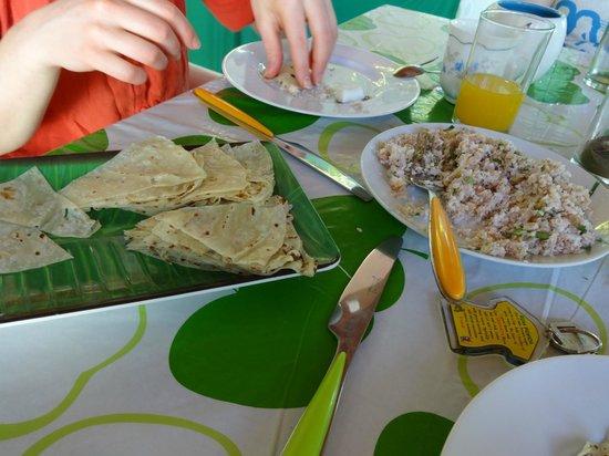Kuri Inn: Maldivian breakfast