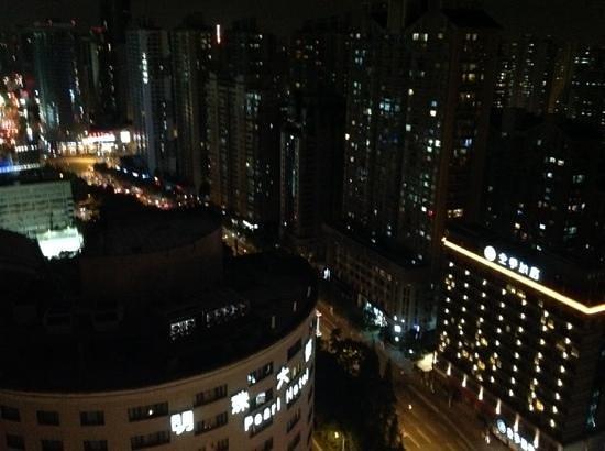 Somerset Xu Hui Shanghai: view from the terrace