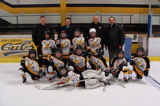Leisure Inn Hotel: Iroquois Falls Novice 2013-  best team by a long shot