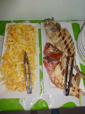 Kuri Inn: Food