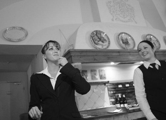 Restaurant Clair de Plume Gastronomique : Quelques minutes avant le service