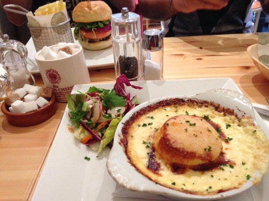 The Cheese Society: Double Baked Cheese Souffle