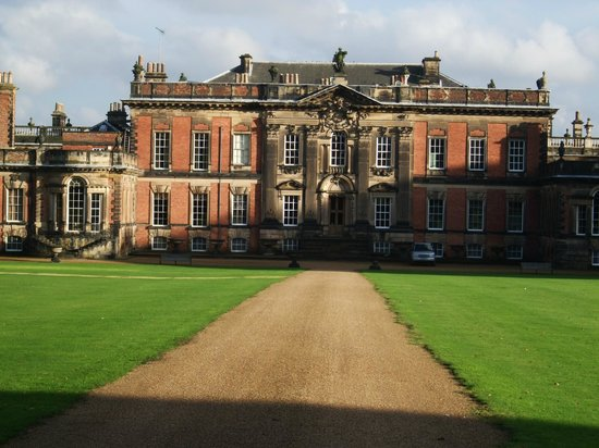 Wentworth Woodhouse: The 'back front' of Wentworth House. The view that no one sees!