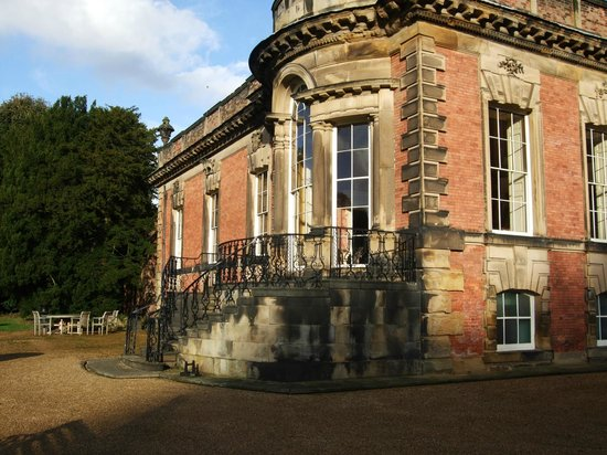 Wentworth Woodhouse Preservation Trust: Mr Clifford Newbold's private apartments at the 'back front' of the house.