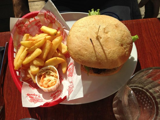 Le Woody's : French burger