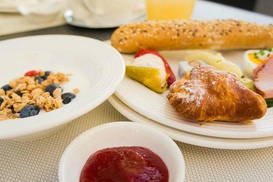 Barock-Landhof Burkhardt: Ontbijt