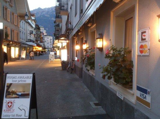 Interlaken - Hotel Weisses Kreuz