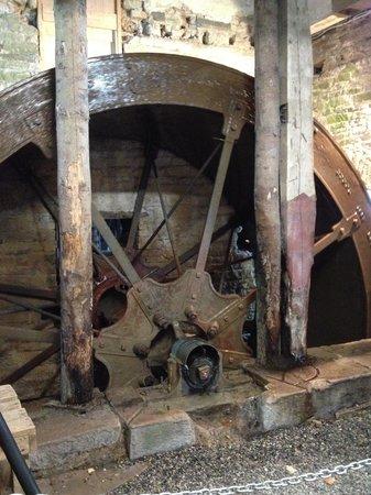 Fancroft Mill & Garden: Mill Wheel
