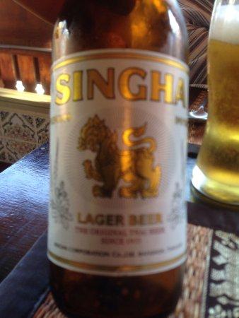 Restaurant Le Mai Thai : Tout y est authentique... Même les boissons...