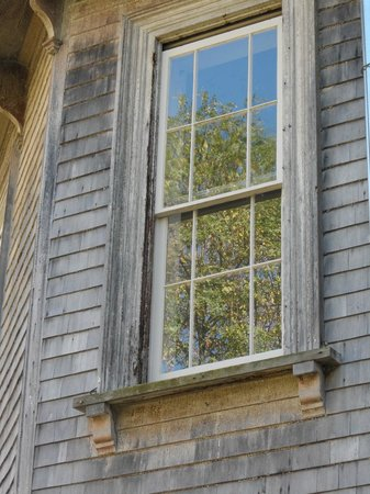 The Dr. Oliver Bronson House: window