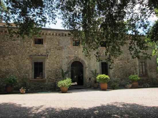 Hotel Villa Ciconia: Entrance to Villa
