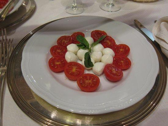 Hotel Villa Ciconia : Appetizer