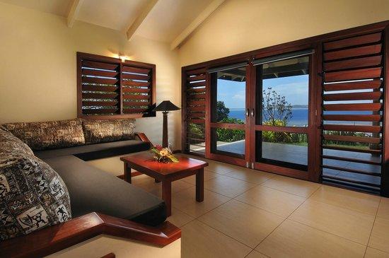 Volivoli Beach Resort Fiji: interior of Studio Vale