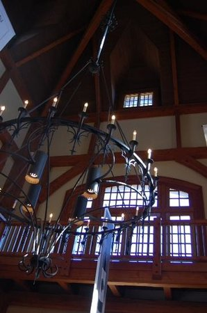 Chateau Morrisette Winery : Just inside the entrance