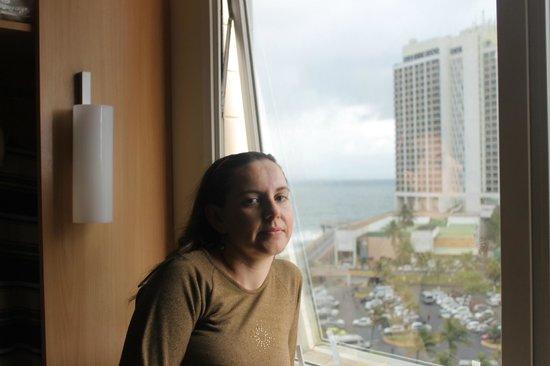 Ibis Salvador Rio Vermelho: Vista de dentro do hotel