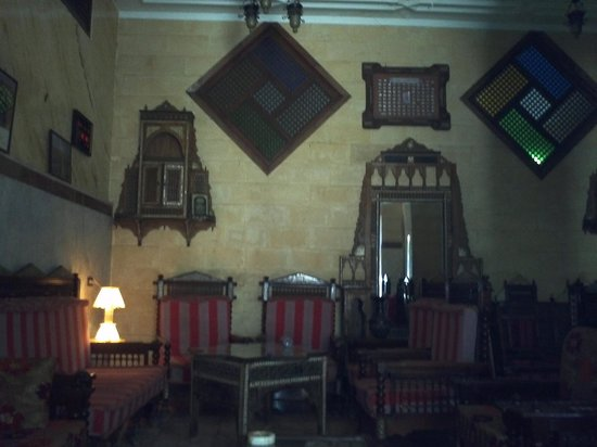 Arabian Nights: Breakfast area