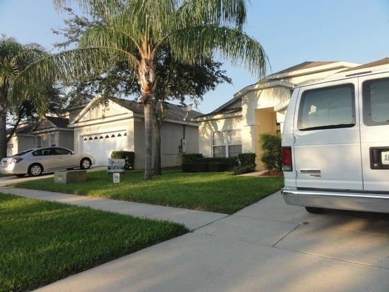 Windsor Palms Resort: visão externa da casa