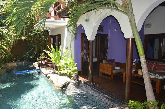 Baoase Luxury Resort: Villa com piscina privativa