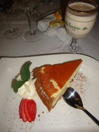 Fishmonger Illovo: Dessert - New York Cheescake