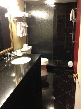 Bourbon Orleans Hotel: Nice modern bathroom