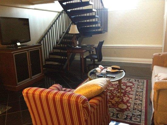 Bourbon Orleans Hotel: Loft suite.