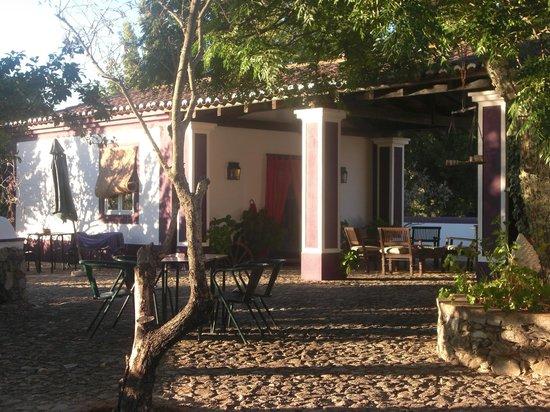 Quinta da Dourada : Terraza exterior