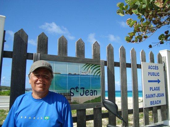 St. Jean Beach: Excelente praia