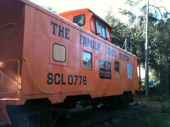 Pinellas County Heritage Village: train car