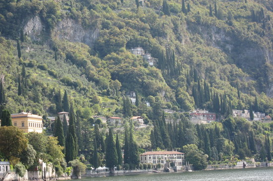 Eremo Gaudio: view from the lake