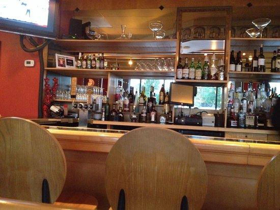 Cafe Bella : Bar area