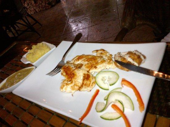 Casa Valeria Boutique Hotel : Grilled Chicken