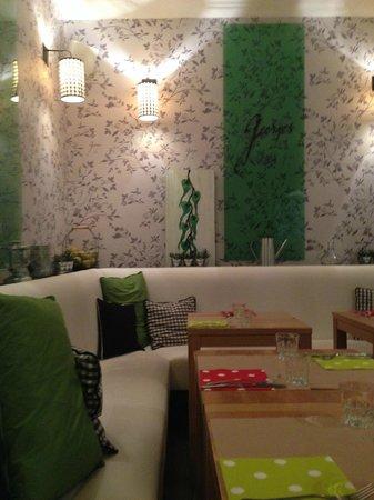 Georges Cafe : déco moderne et vivifiante