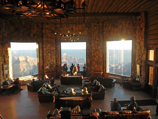 Grand Canyon Lodge - North Rim: Lodge - what an awesome view