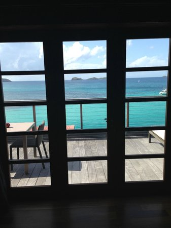 Eden Rock - St Barths: View from our Howard Hughes Loft