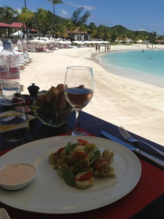 Eden Rock - St Barths: Lunch at the Sand Bar