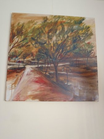 Hostel Alamo : I believe a pastel of an autumn tree