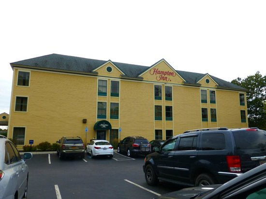 Hampton Inn Freeport/Brunswick : Exterior of hotel