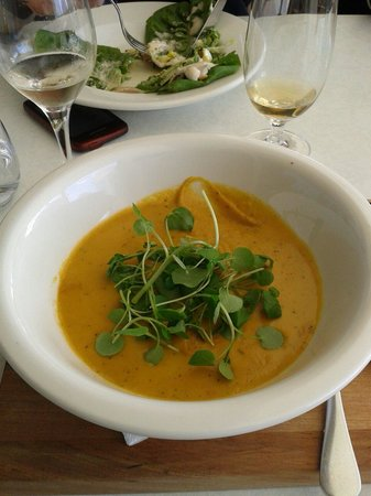Bluebiyou Restaurant : Pumpkin soup
