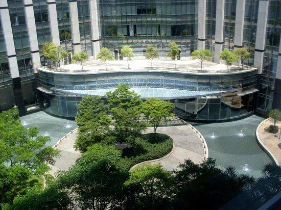 Grand Hyatt Sao Paulo: O que mais me impressionou foi a vista do hotel, é difícil ver umaárea verde em SP, mesmo que pe