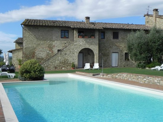 Linearis Holiday House & Agriturismo Podere Sertofano: Hotel/Pool