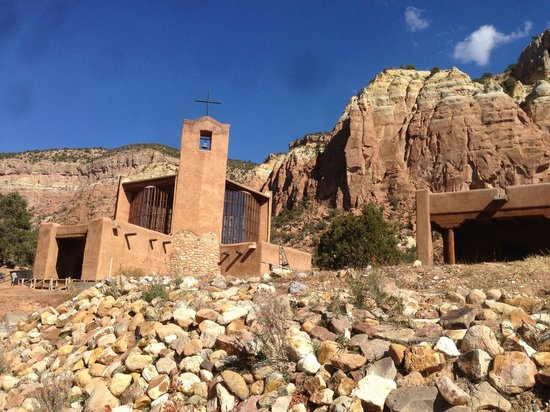 Abiquiu, NM: church by George Nakashima