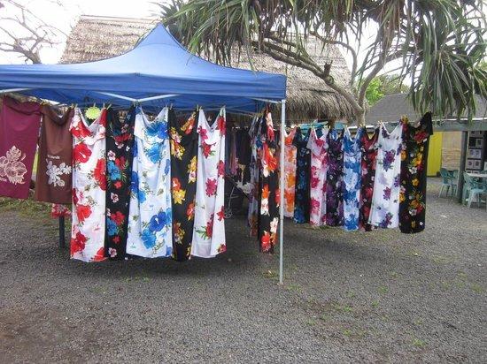 Punanga Nui: Want a sarong? They've got sarongs.