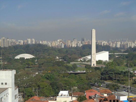 Pullman Sao Paulo Ibirapuera: Vista do Parque o Ibirapuera