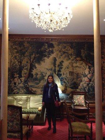 Hôtel Amarante Beau Manoir : Lobb hotel
