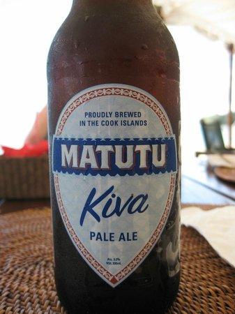 Pacific Resort Rarotonga: With a Rarotonga beer