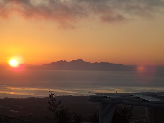 Sunrise at the Dream Island Hotel