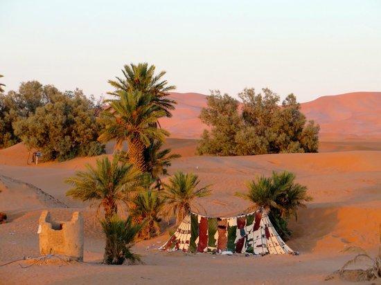 Auberge le Petit Prince : A classic desert scene