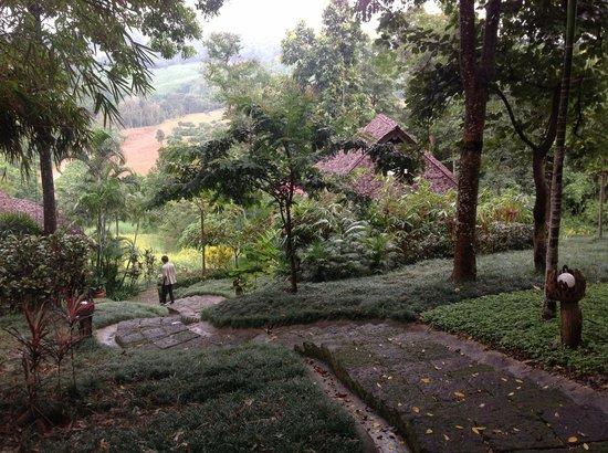 Suanthip Vana Resort: path to the villa